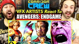 VFX Artists React to AVENGERS ENDGAME Bad & Great CGi | REACTION!!!