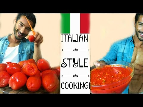 Fresh Tomato Sauce recipe – Italian Style