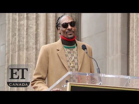 Snoop Dogg Gets Star On Hollywood Walk Of Fame | FULL SPEECH