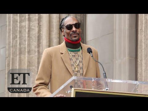 V Gomez - Snoop Dogg's Star On Hollywood Walk Of Fame Speech