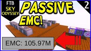 FTB Sky Odyssey Passive EMC! (Infinite EMC!) Ep2