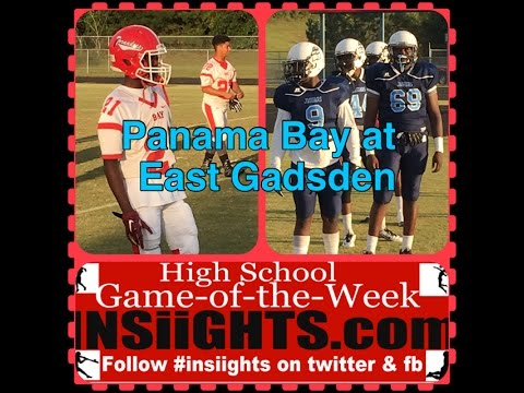 INSiiGHTS High School Game of the Week: Panama Bay at East Gadsden Oct. 7, 2016