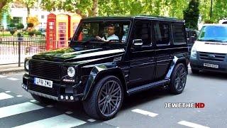 Mercedes-benz Brabus G-class K8 In London! Beast Exhaust Sounds!