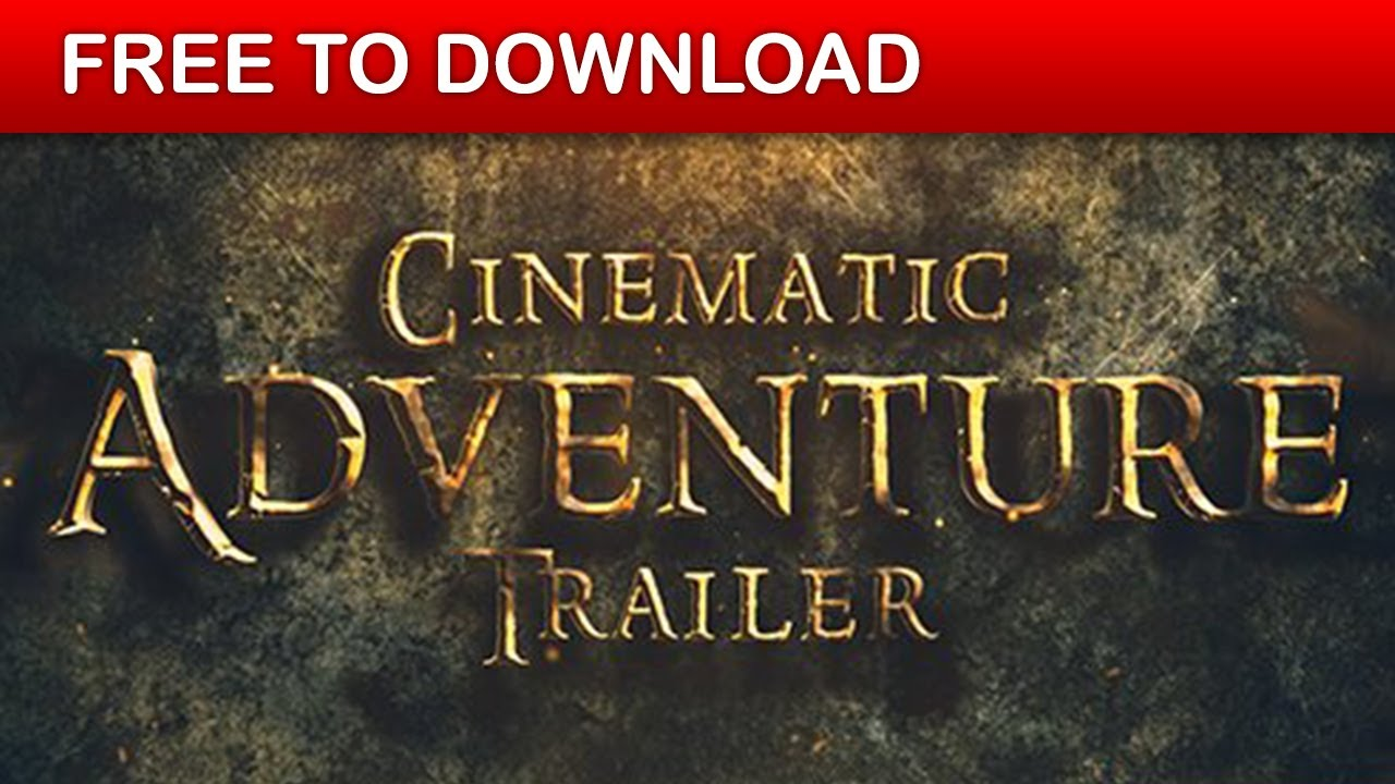 Cinematic Trailer | After Effects Template | Free Download