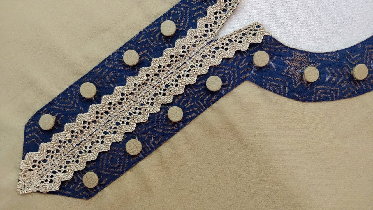 बनायें एकदम रेडी़मेड स्टाईल Neck Design for Kurti/Suit Cutting and Stitching