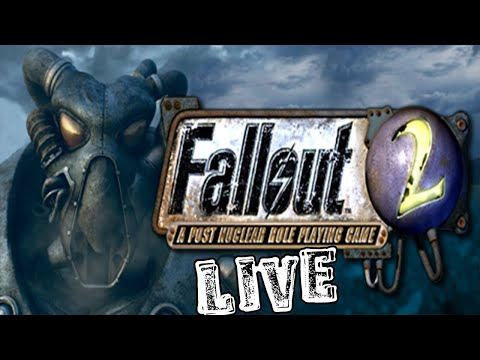 ОТРЯД САМОУБИЙЦ    Прохождение на харде Fallout 2 + что-то ещё [Стрим]