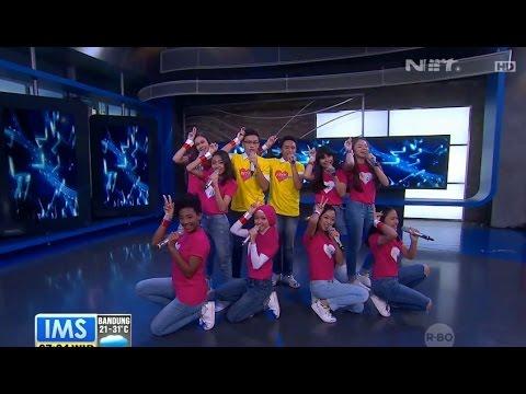 Duta Cinta - Medley Menabung dan Gang Kelinci - Live at Indonesia Morning Show