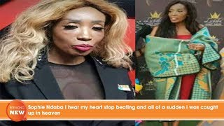Hot new: Sophie Ndaba I hear my heart stop beating and all of a sudden i was caught up in heaven