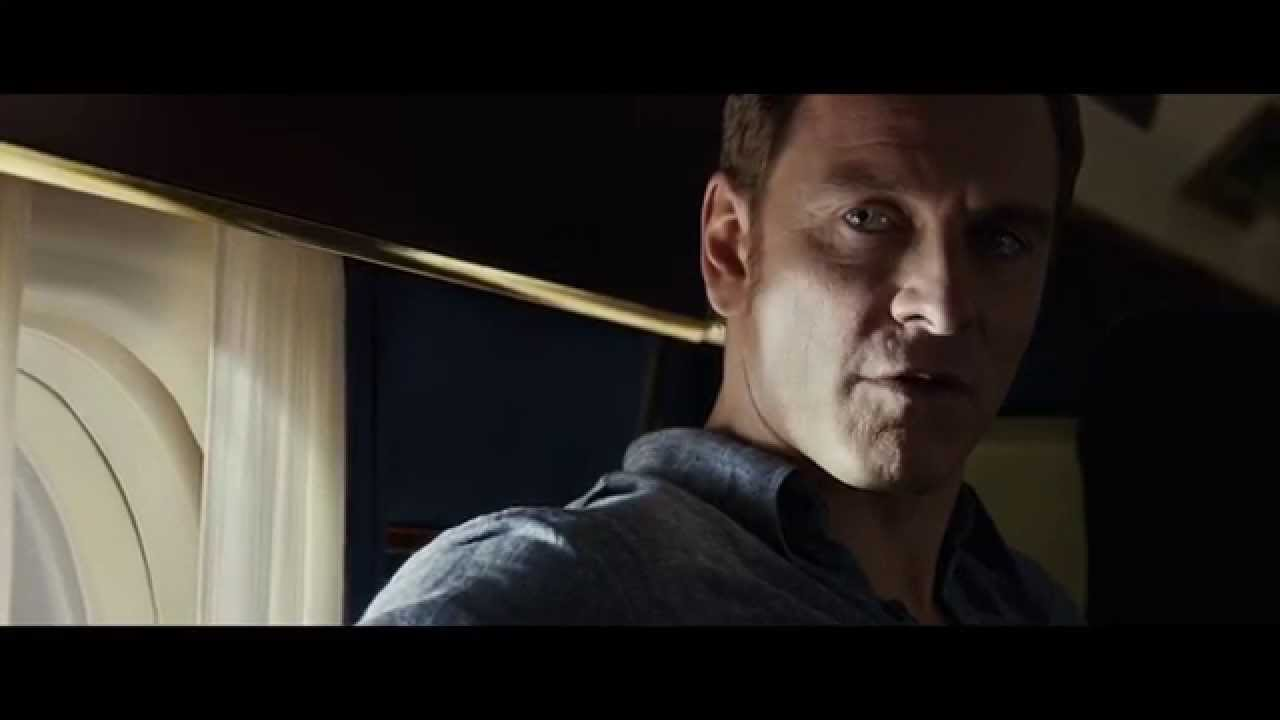 Michael Fassbender X Men Bar Scene