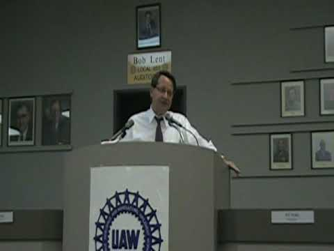 Congressman Gary Peters at the 9th District Potluck Dinner Part 2