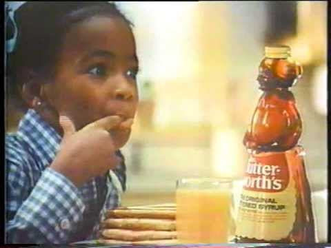 Kim Fields 1970's Mrs  Butterworth's Syrup Commercial
