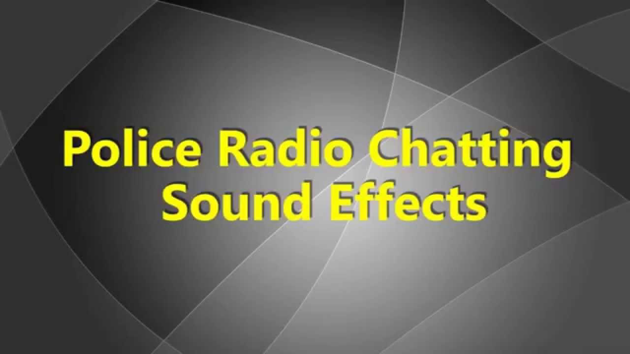 police radio chatting sound effects police walkie talkie sound