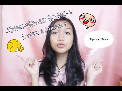 Cara Memutihkan Wajah Dalam 1 Malam || Desty Yufenti