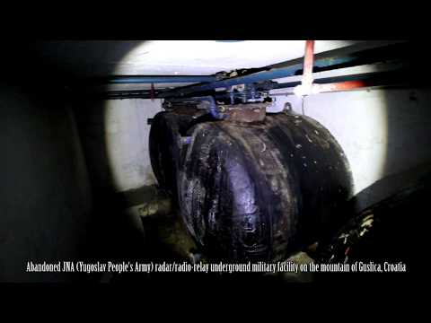 Guslica - ex Yugoslav Army underground military facility, underground Pt.4