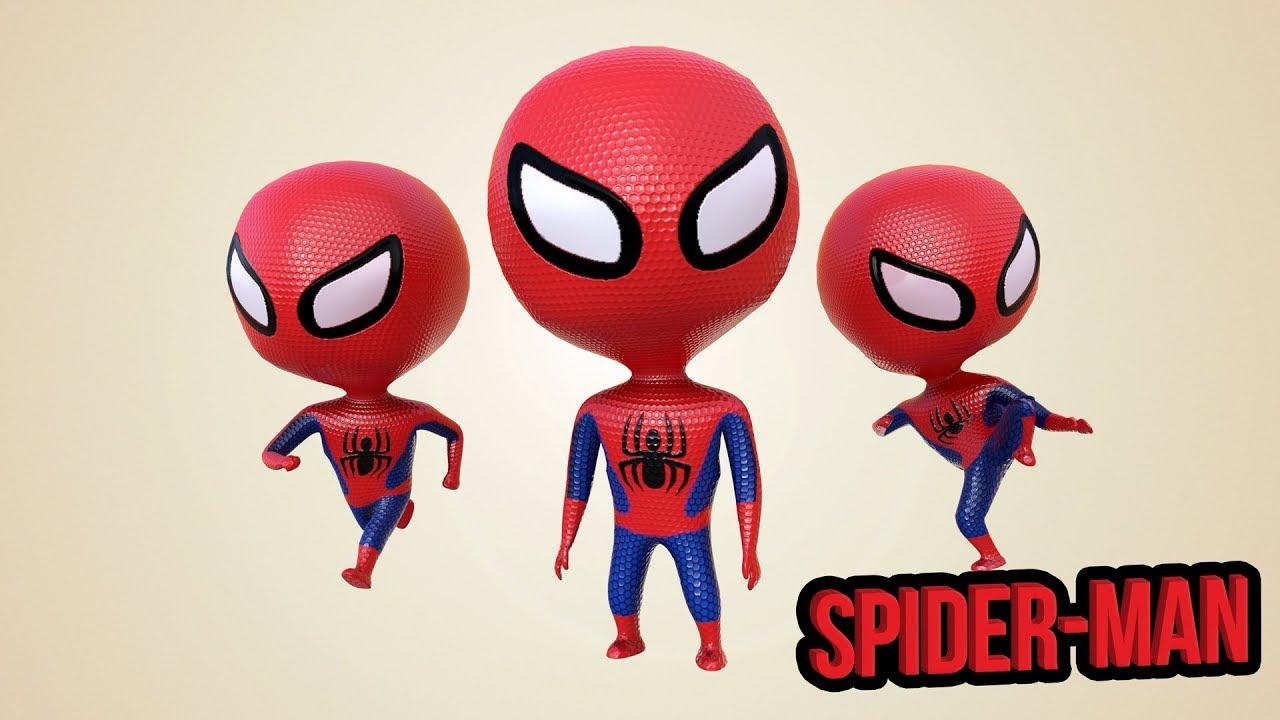 Spiderman Finger Family | 3D Finger Family Nursery Rhymes & Songs for Children