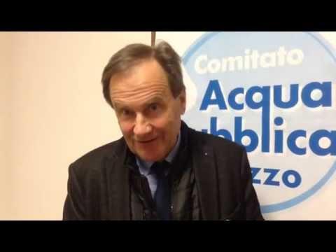 Comitato Acqua Pubblica: Gianfranco Morini In Corsa Per Le Amministrative
