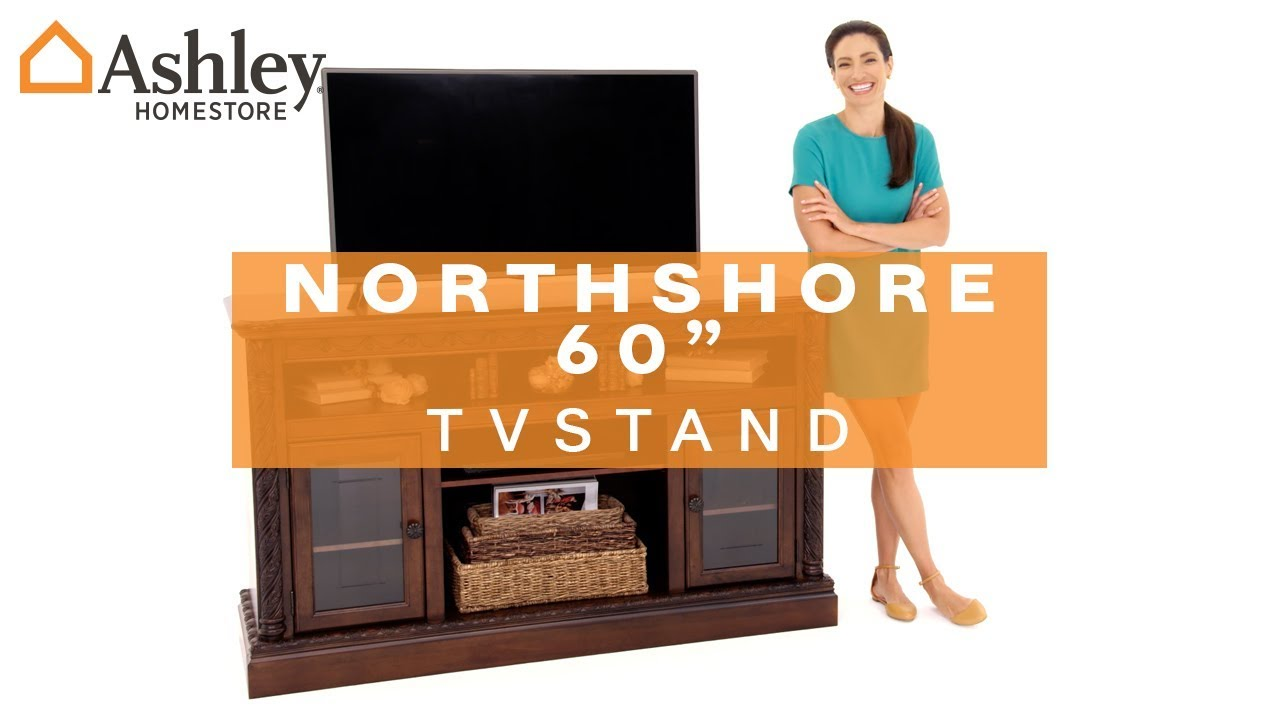 Ashley Homestore North Shore 60 Tv Stand Youtube