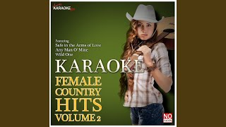 Letting Go (In the Style of Suzy Bogguss) (Karaoke Version)