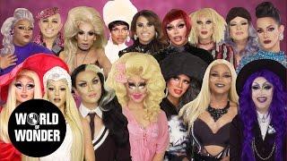 DRAG QUEENS REACT: Moaning w/ Alaska, Katya, Trixie, Raja, Raven, Manila & more!
