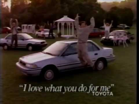 80 S Ads Toyota Corolla 1989 Youtube