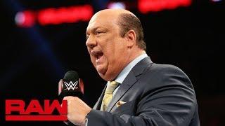 Paul Heyman has a reminder for Seth Rollins: Raw, June 17, 2019
