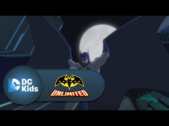 Bank Heist | Batman Unlimited | DC Kids