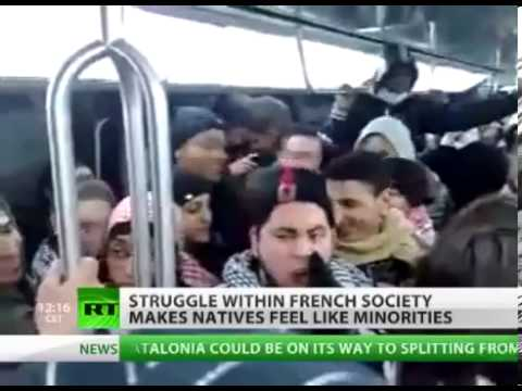 FOX NEWS   Inter ethnic tension rises in France as natives fear to become 'white minority'