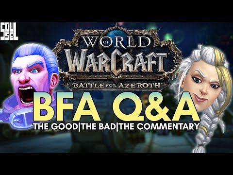 Reactions and Commentary From the Battle for Azeroth Developer Q&A - World of Warcraft