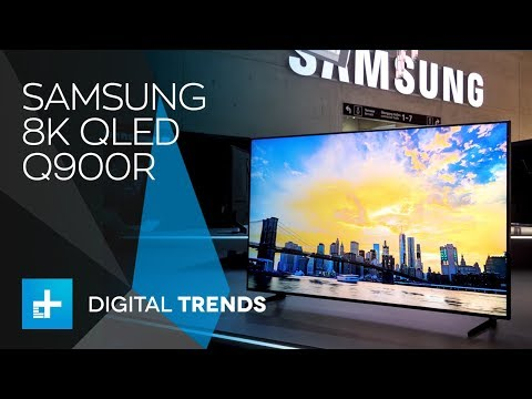 Samsung 8K QLED TV Q900R - Hands On at IFA 2018