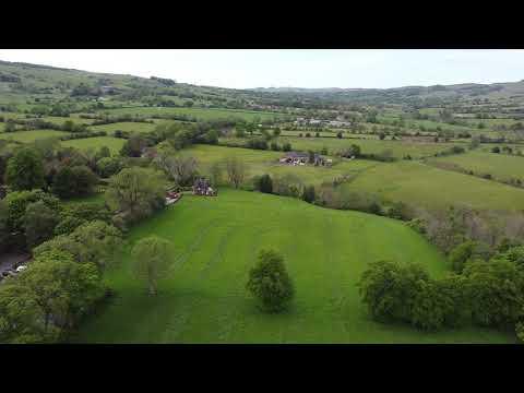 DJI Mavic Mini Drone Flight Over Meerbrook, Leek And Tittesworth Reservoir