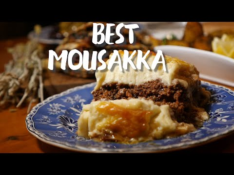 Delicious Greek Cuisine - BEST MOUSSAKA I've ever had!