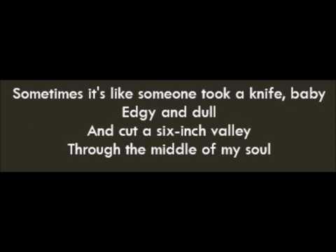 I'm On Fire - Bruce Springsteen (Lyrics)