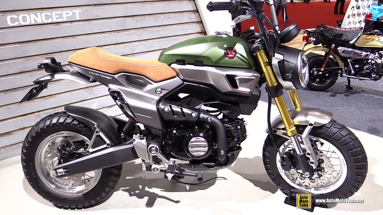 2015 Honda Grom >> Honda Grom Scrambler Concept Two - Walkaround - 2015 Tokyo ...