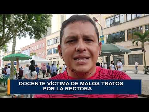 Otro docente denuncia malos tratos de la rectora del Leonidas Rubio
