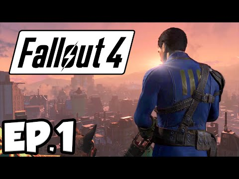 Fallout 4 Ep.1 - WAR NEVER CHANGES!!! (Gameplay)