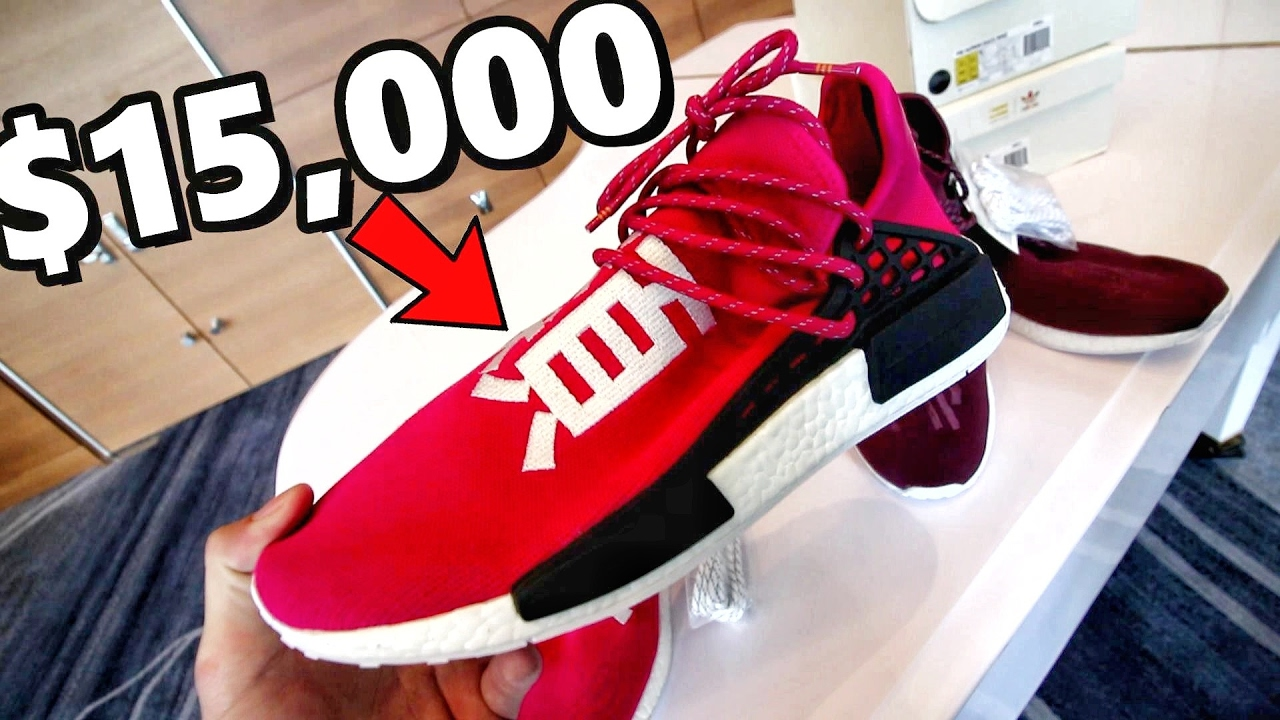 official photos 65563 46f6c PAYING $15,000 FOR SAMPLE NMD'S! MOST EXPENSIVE ADIDAS SNEAKERS