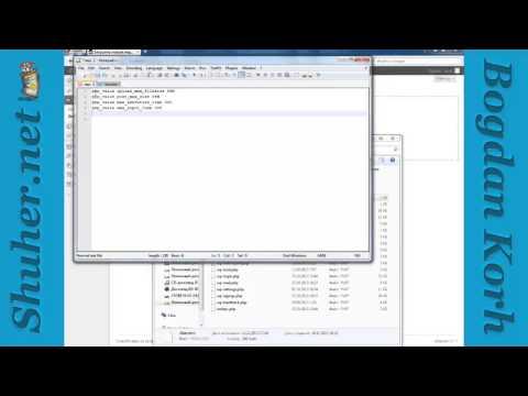 Как увеличить максимальный размер загружаемых файлов wordpress
