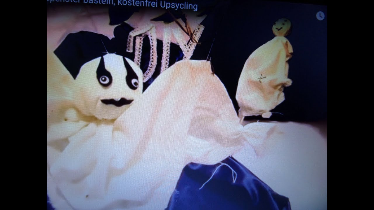 Diy Coole Led Gespenster Geister Basteln Upcycling Aus Bettwäschehemden