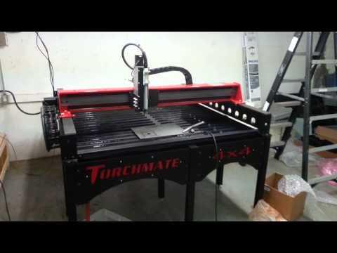 Torchmate 4x4 CNC First Cut