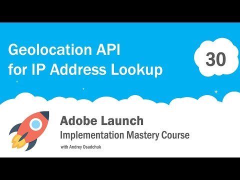 Visitor Geolocation with Adobe Launch  Implement GEO IP Lookup with