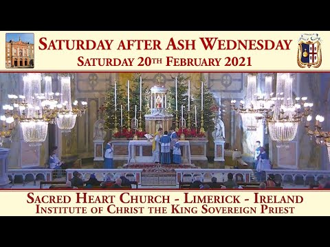 Saturday 20th February 2021: Saturday after Ash Wednesday