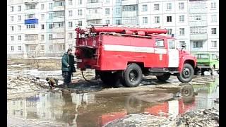 Сердобск ТВ Жаңа көлі қаласында Жөндеу нөсерлік канализация 10 04 12