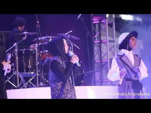 Nissa Sabyan Feat Gita Gutawa & Ayu Idol - Ya Maulana (Live Konser Indonesia Sejuk)