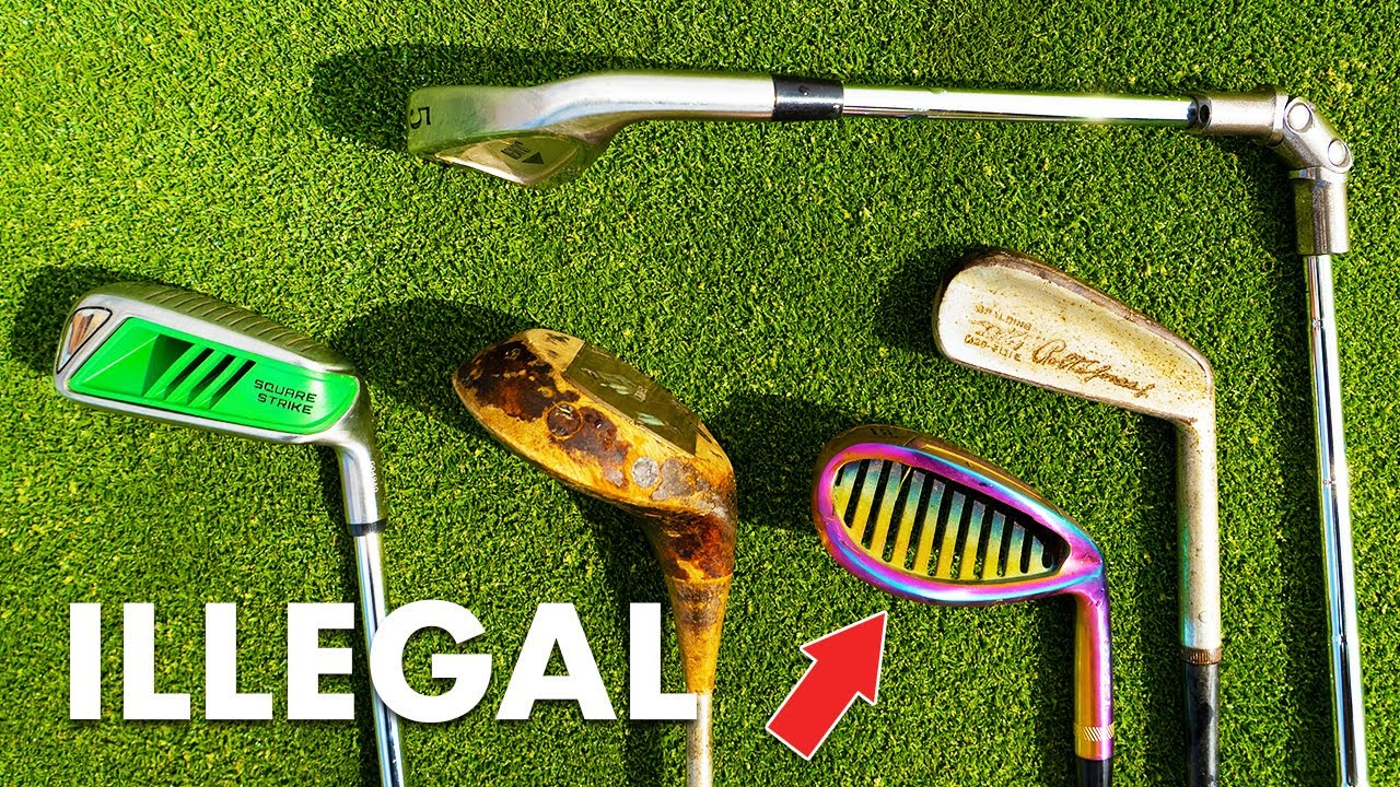 Random Illegal & Gimmick Clubs! | 3 Hole Challenge! *Giveaway*