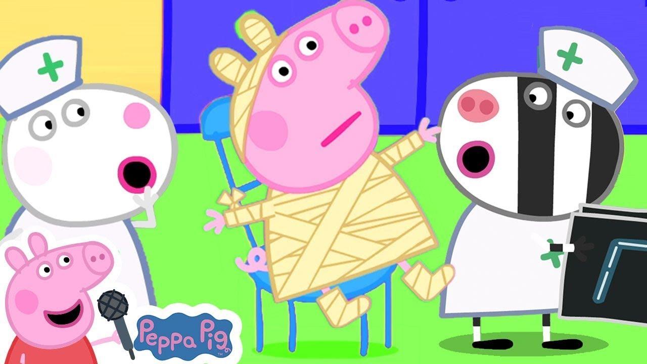 Peppa Pig Boo Boo Song - Be Careful Peppa   Peppa Pig Official   More Nursery Rhymes and Kids Songs