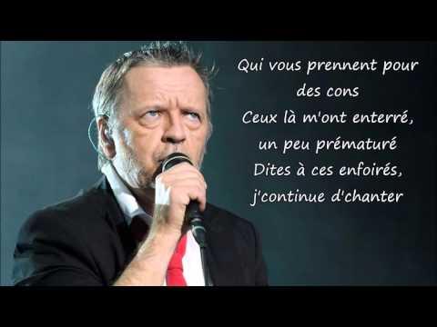 Renaud - Toujours debout Paroles