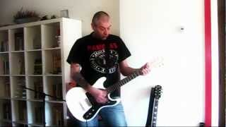 RAMONES - Today Your Love Tomorrow The World (HQ audio guitar cover)