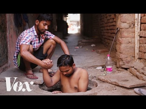 The hard life of India's illegal sewer cleaners