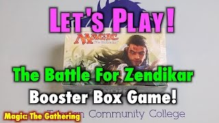 mtg lets play the battle for zendikar booster box game magic the gathering