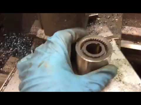 Spline drive coupler repair